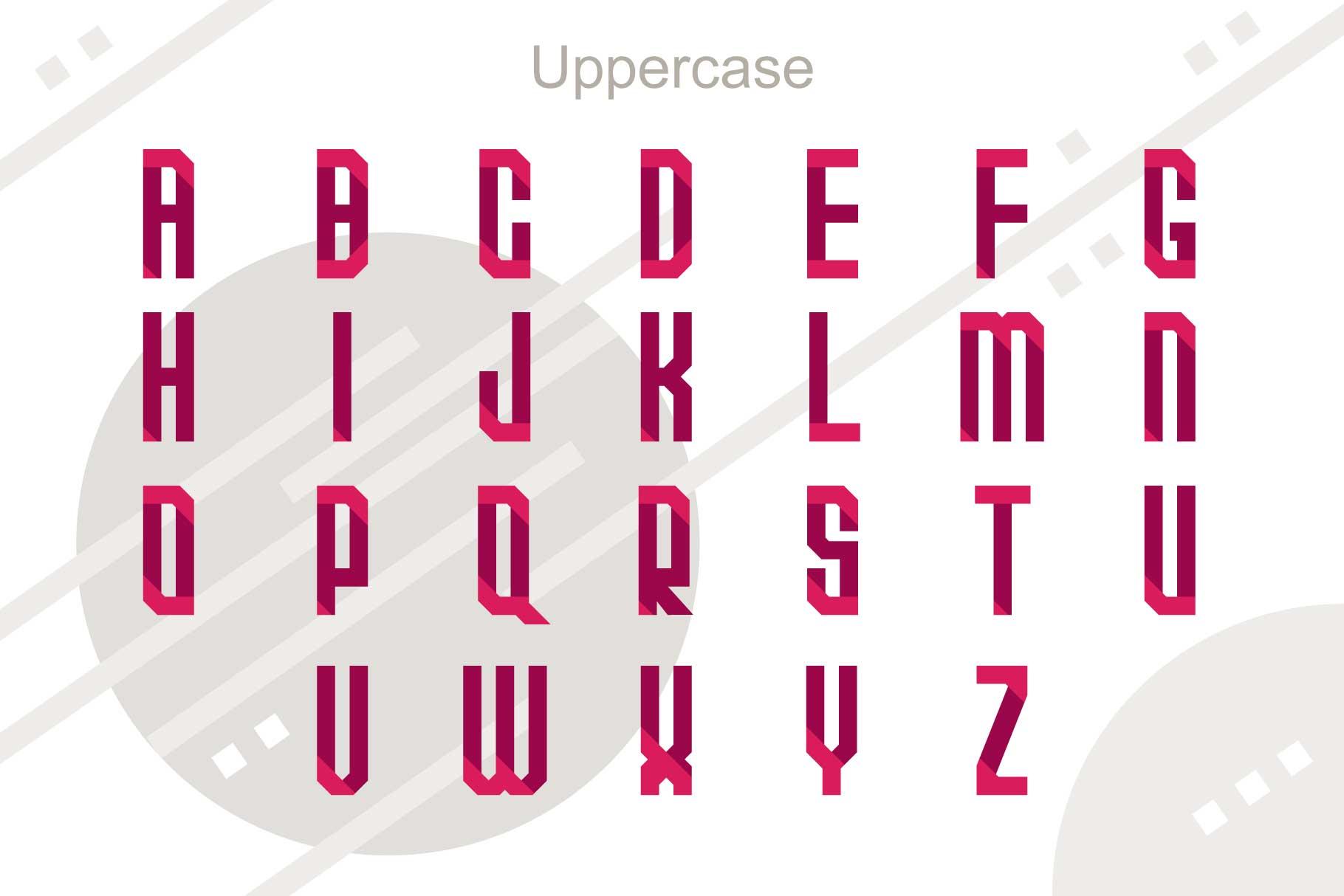 Quarta font family example image 2