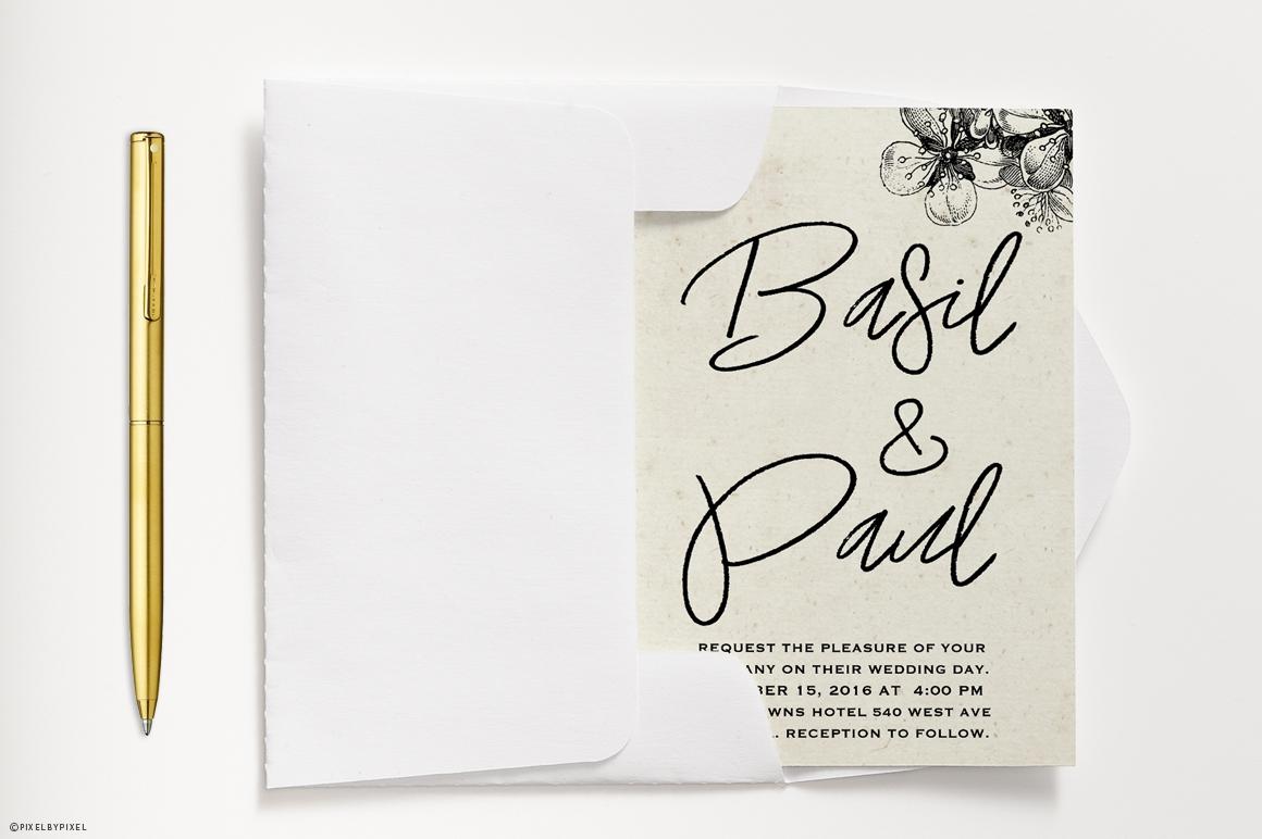 A Paris Handwritten Font example image 5