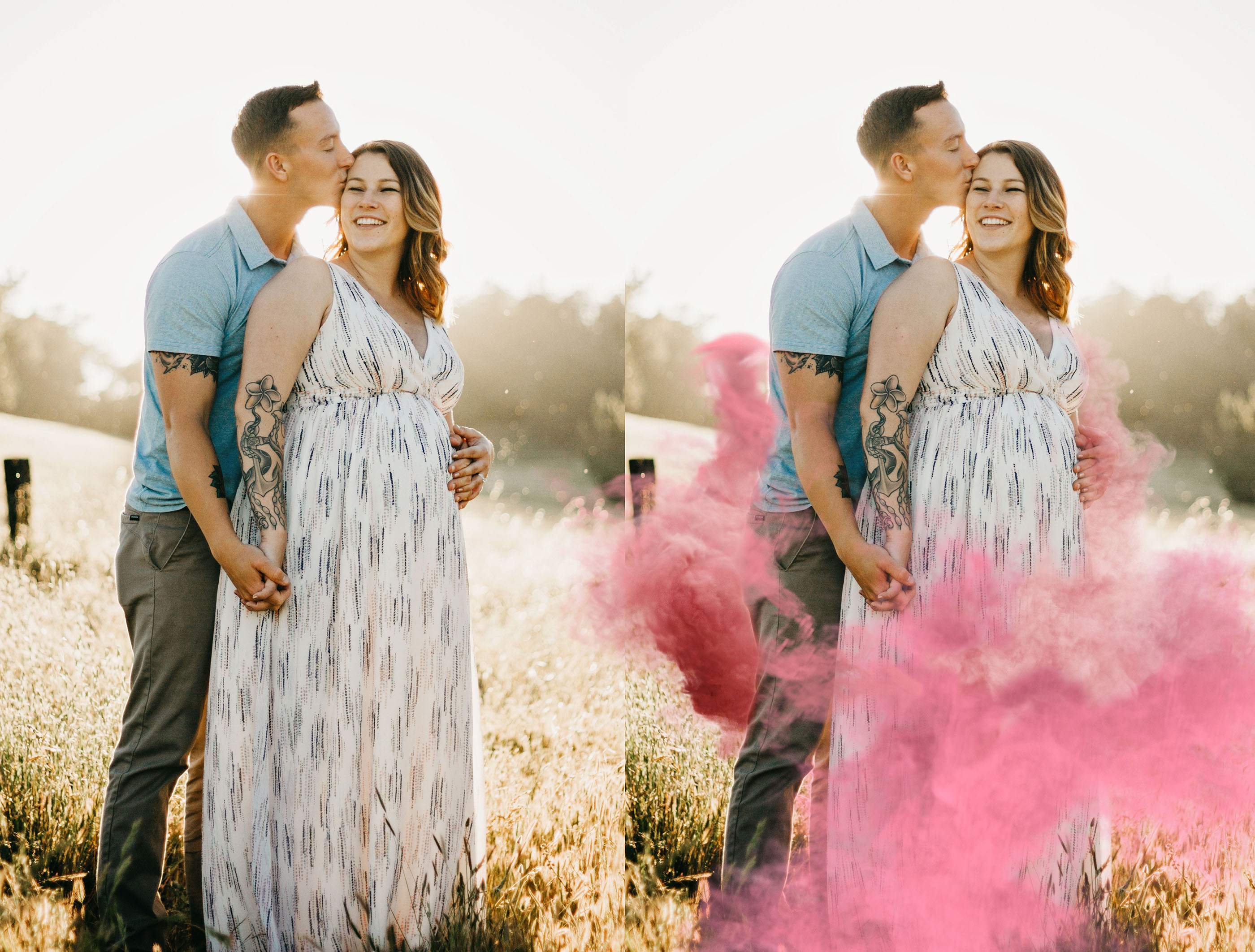 GENDER REVEAL SMOKE. PNG Photoshop Overlays example image 3