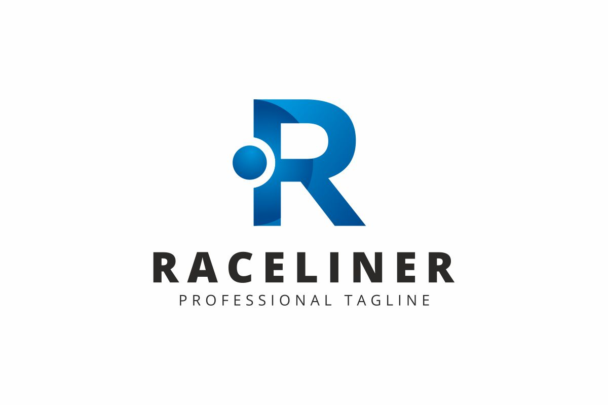 Raceliner R Lettre Logo example image 1