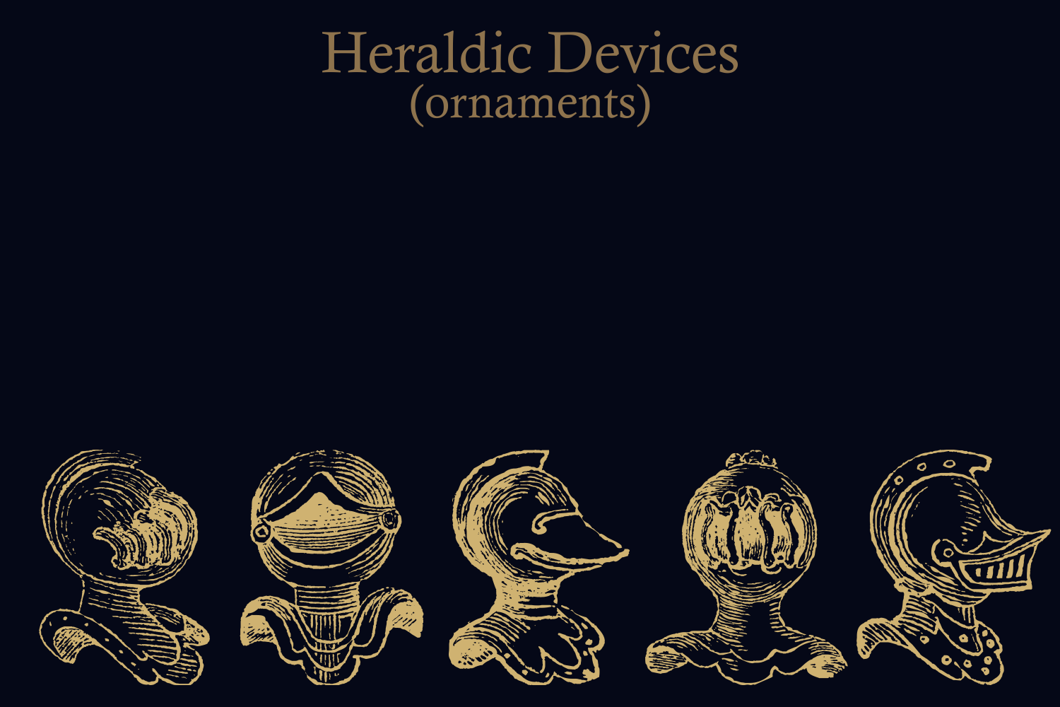 Heraldic Devices Premium (pack)  example image 13