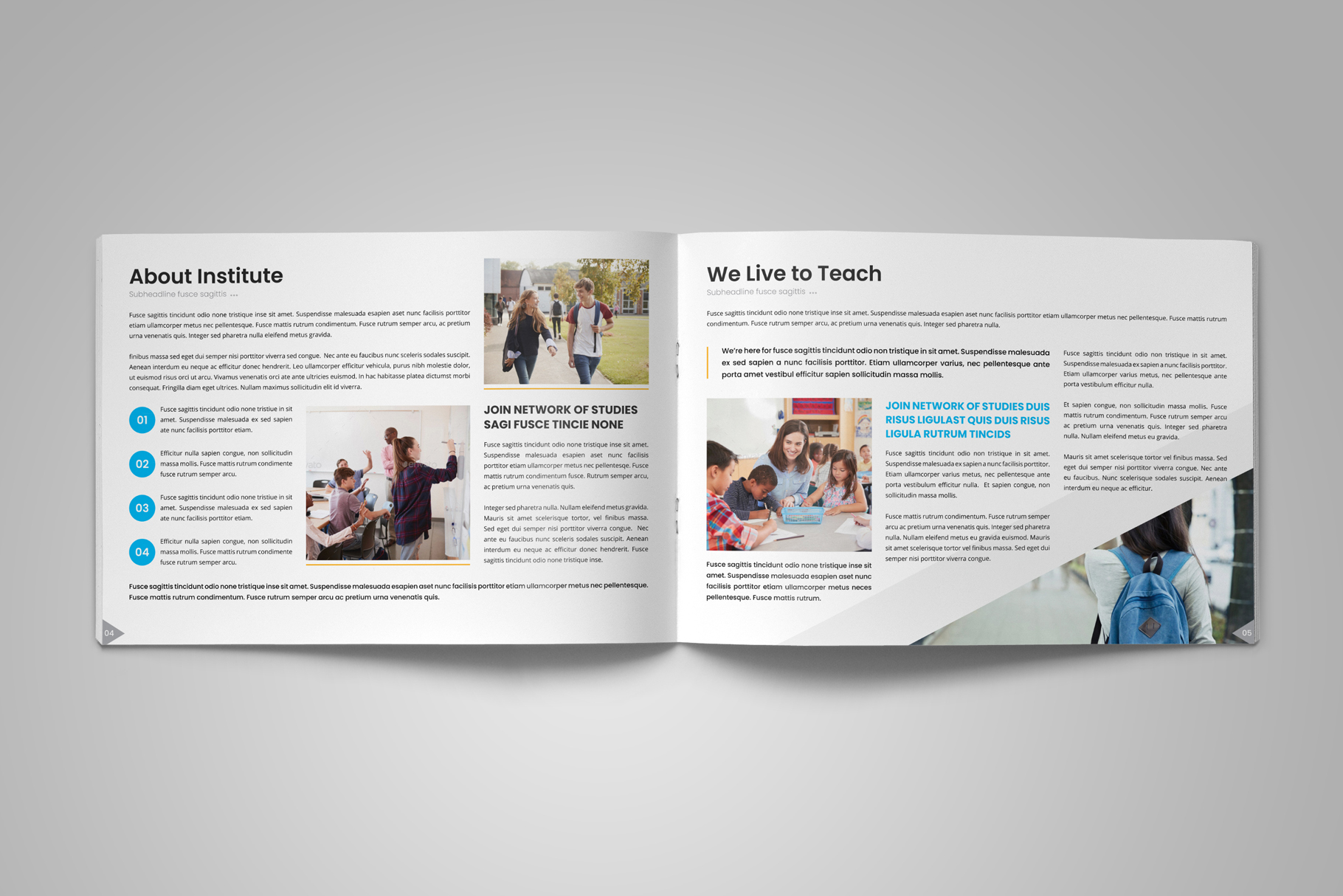 Education Prospectus Brochure v12 example image 4