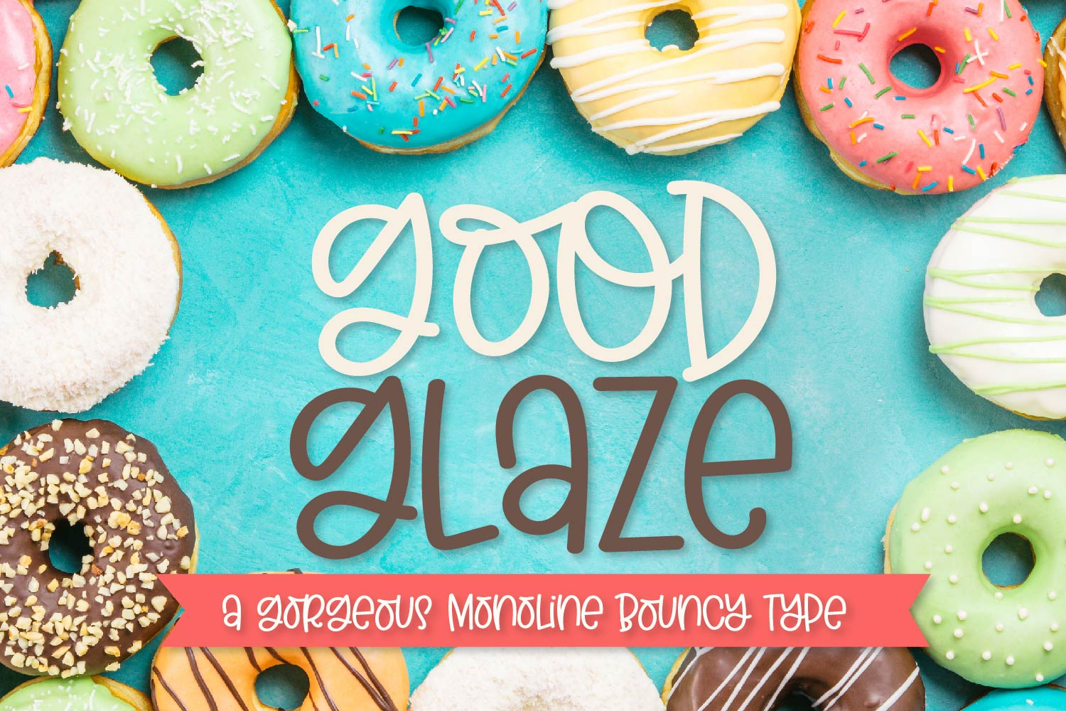 Good Glaze - A Clean Hand Lettered Sans Serif with Ligatures example image 1