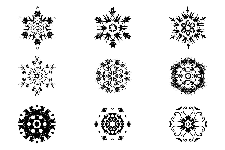 125 Vector Mandala Design example image 8