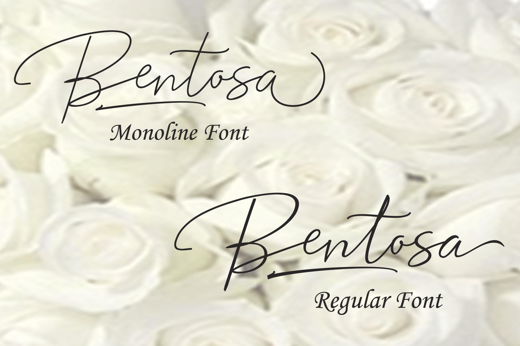 Bentosa Script example image 2