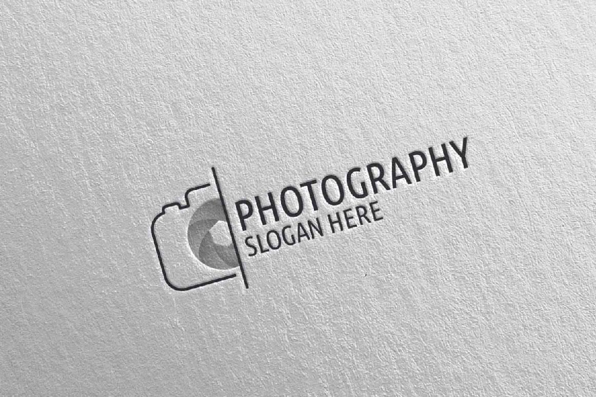 Abstract Camera Photography Logo 5 example image 4