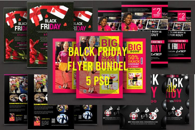 Black Friday Bundle 5 psd example image 1