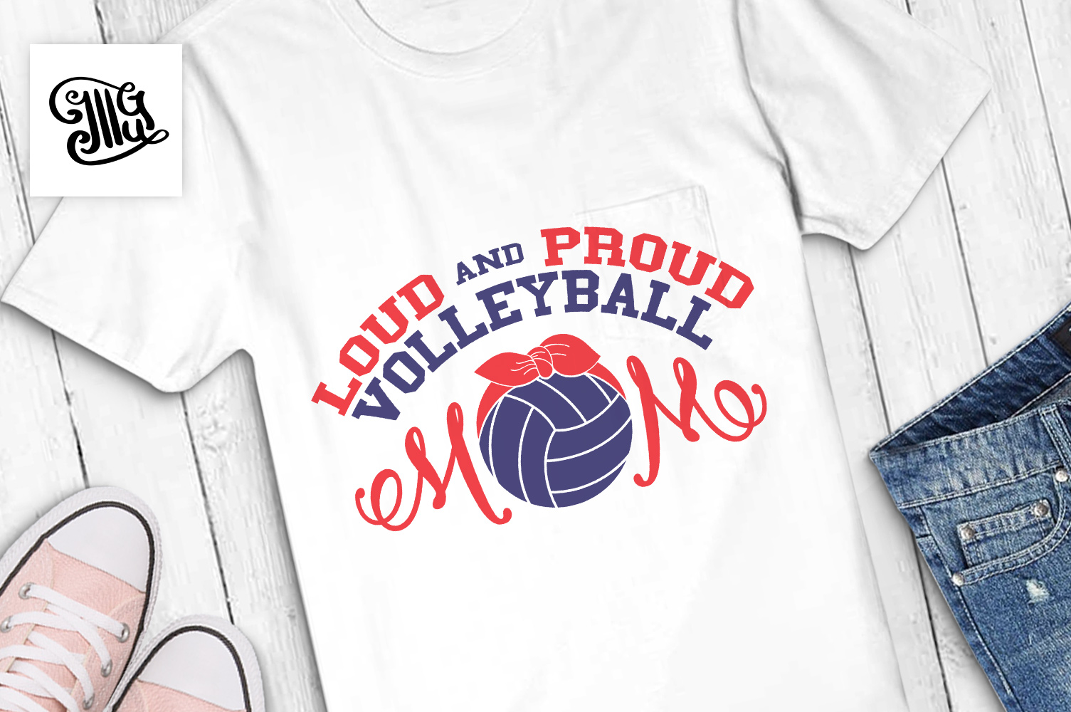 Volleyball svg bundle example image 15