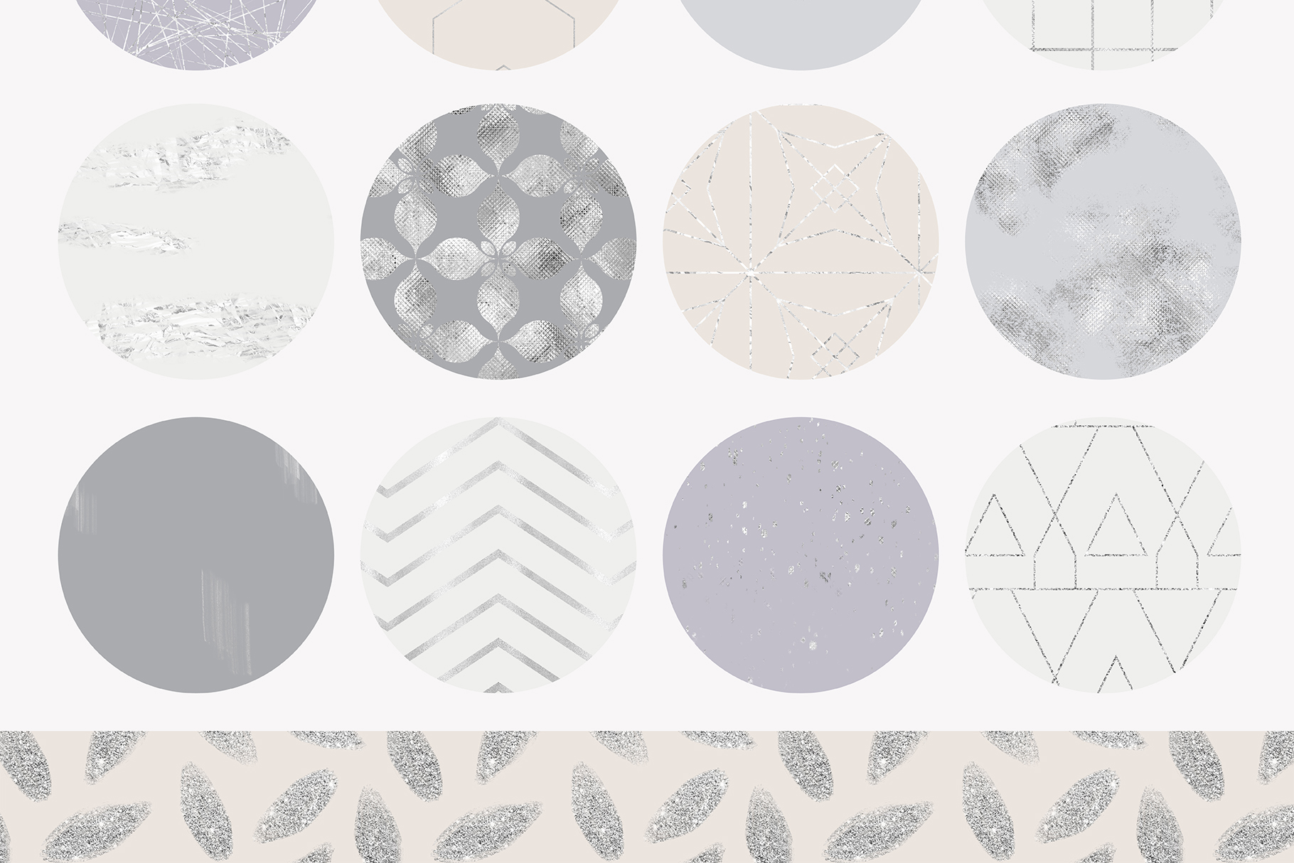 Fancy Silver Pattern Collection example image 9