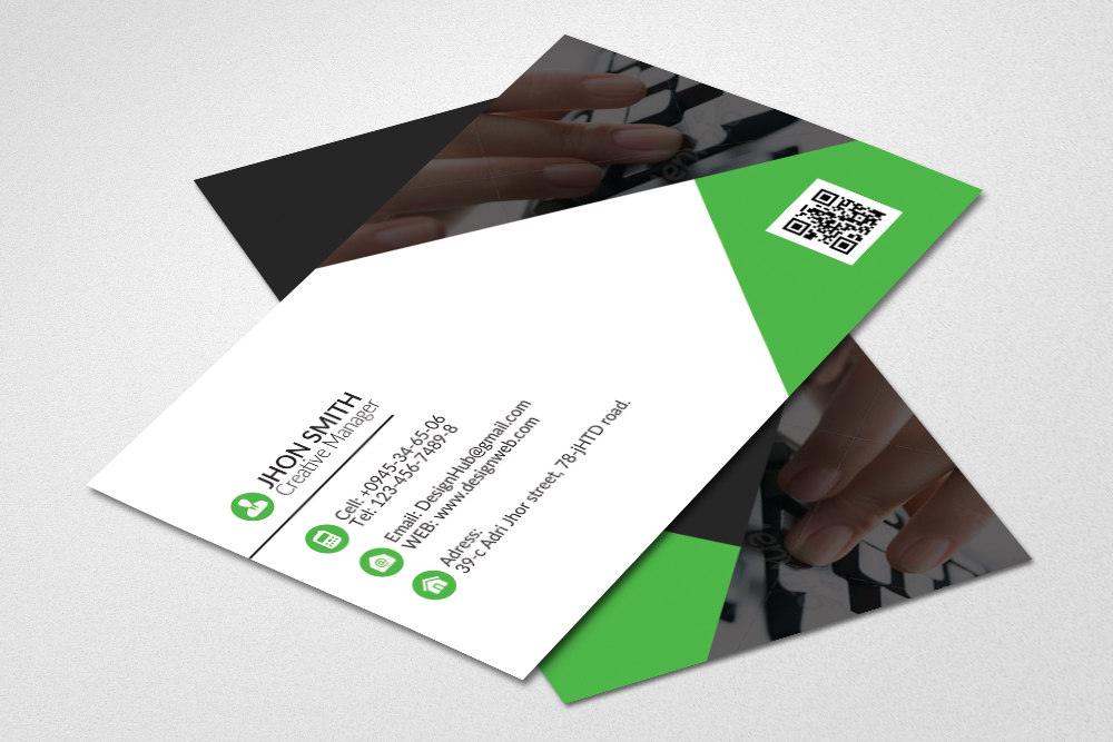 Business Cards Editable files example image 1