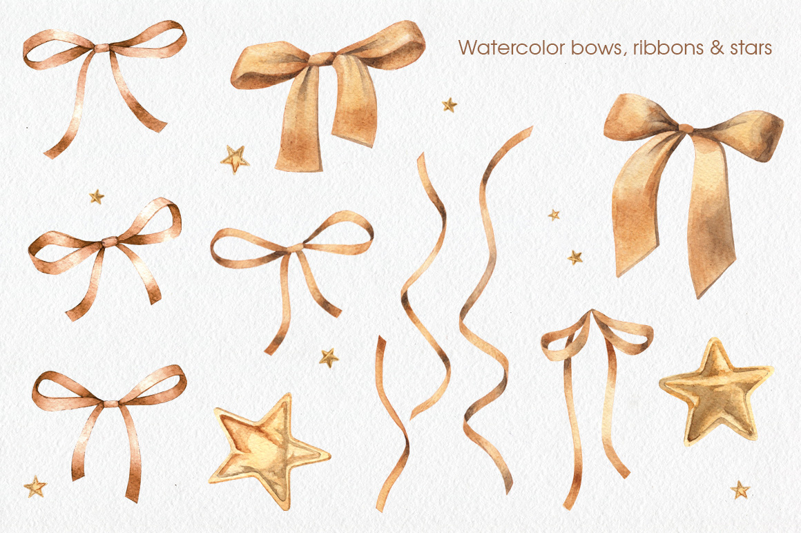 Golden Bows, Ribbons & Beads example image 2