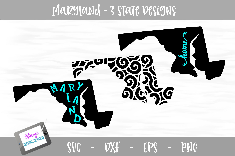 Maryalnd Mini Bundle - 3 Maryland State Designs example image 1