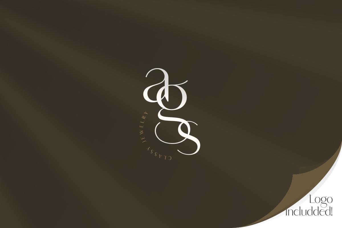 Saudagar Display Font & 7 Bonus Logo example image 11