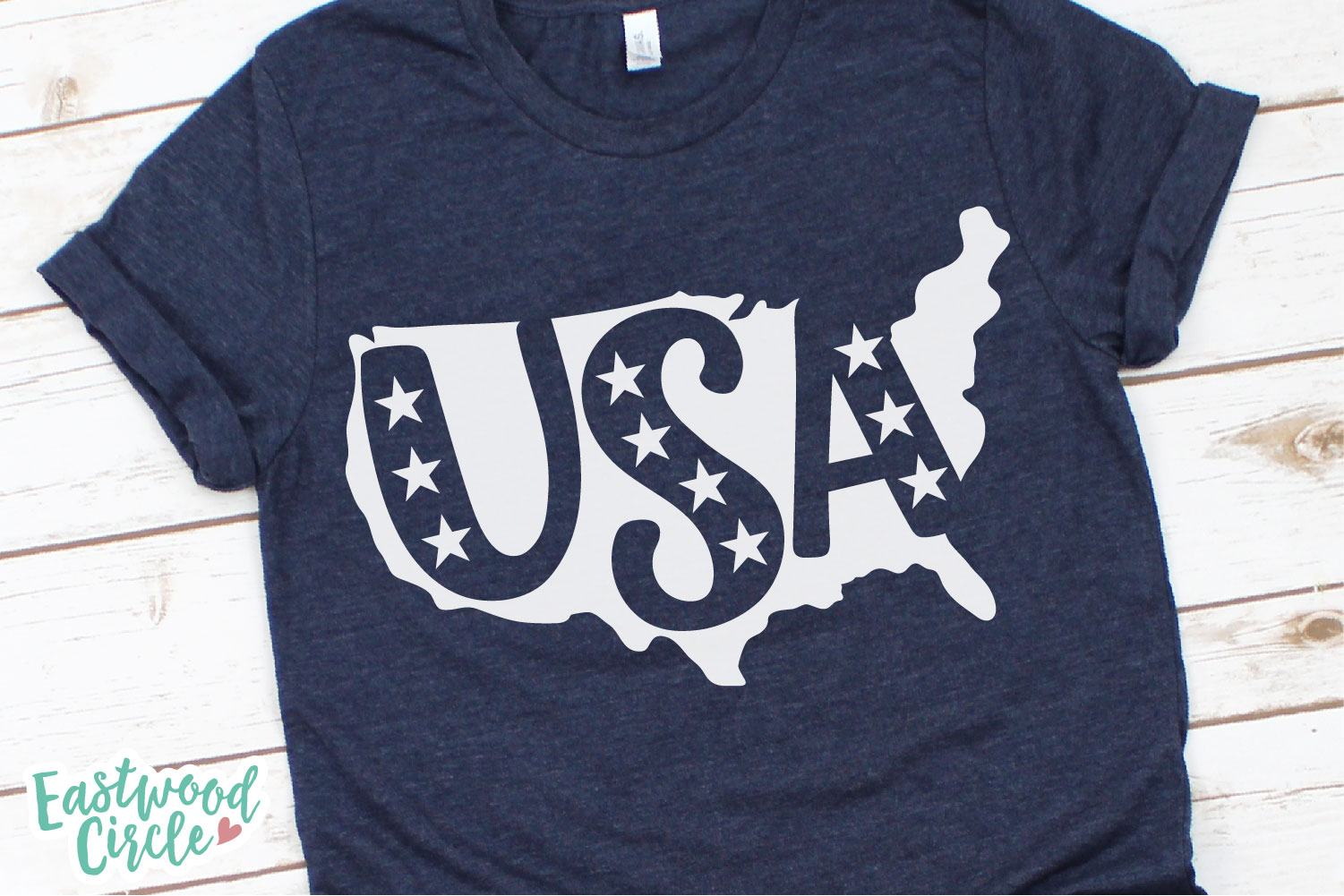 USA Silhouette - A 4th of July SVG Cut File example image 2