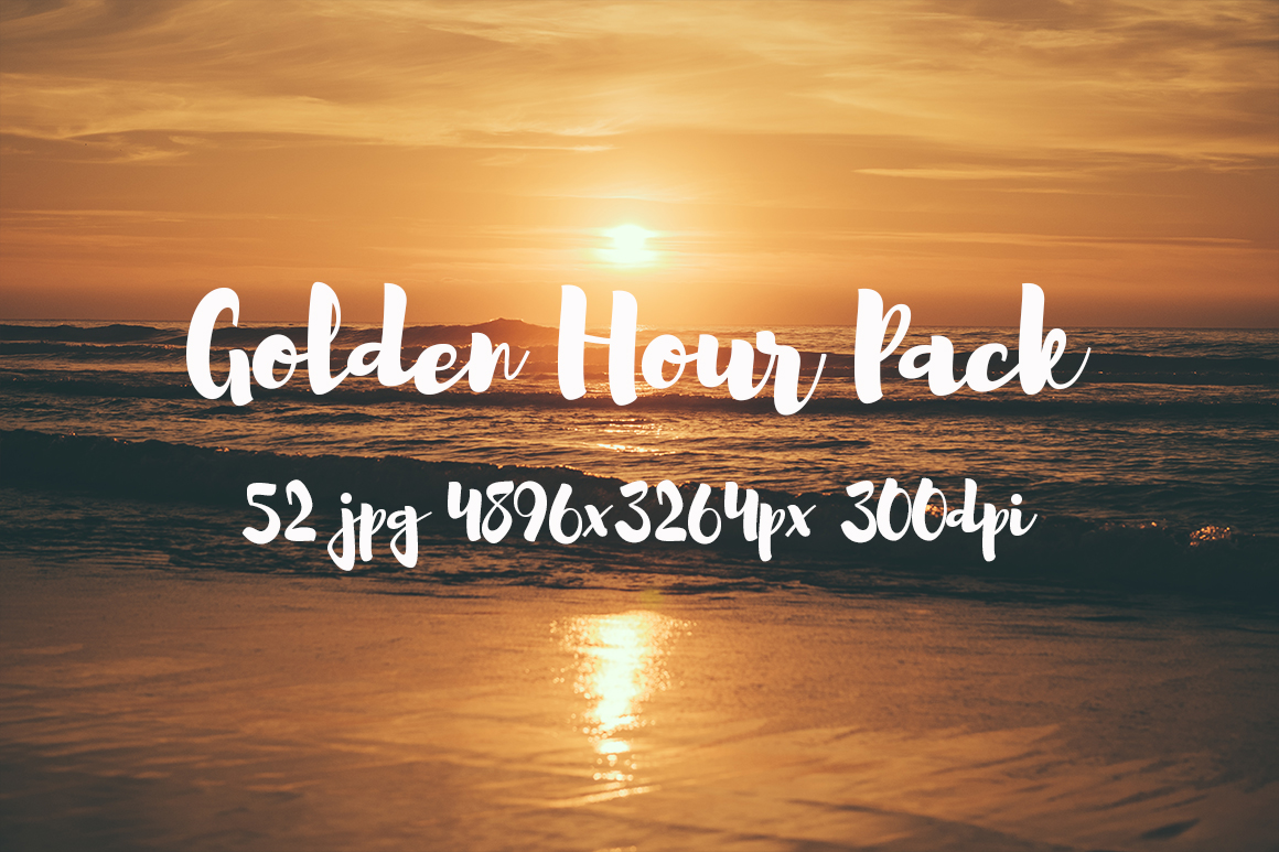 Golden hour Pack example image 14