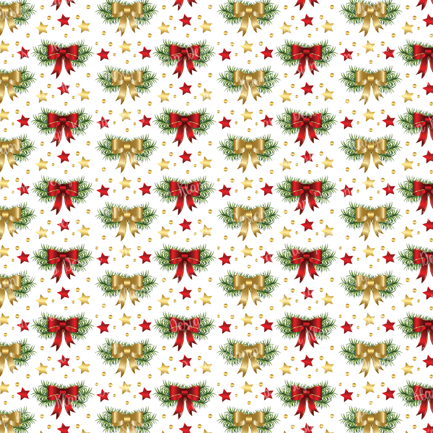 Red and Gold Christmas Digital Paper Pack / Backgrounds / Scrapbooking / Patterns / Printables / Card Making example image 5