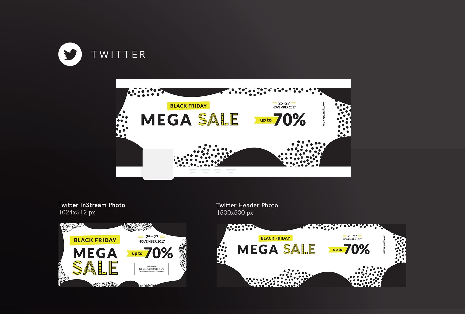 Black Friday Sale Design Templates Bundle example image 10