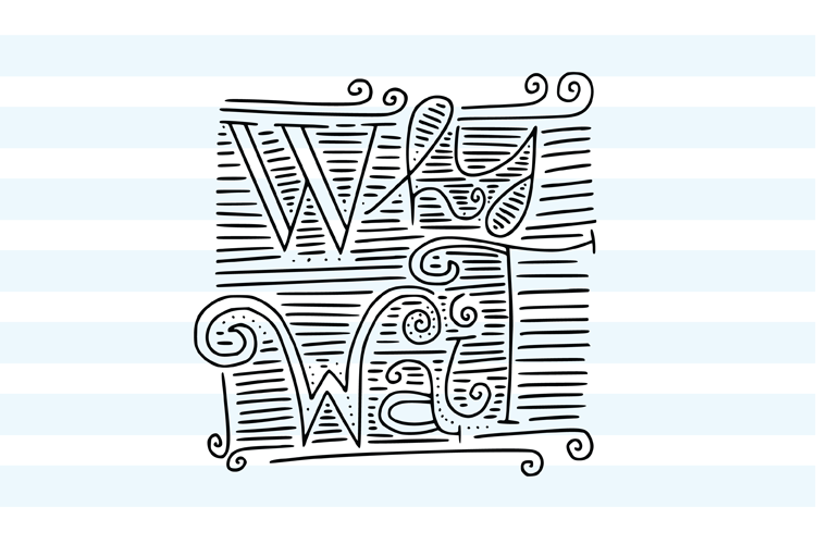 Why Wait SVG cut file example image 2