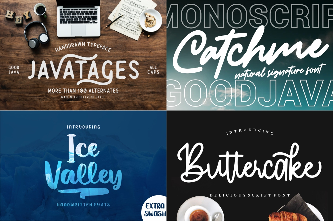 BEST CRAFTER FONT COLLECTIONS example image 8