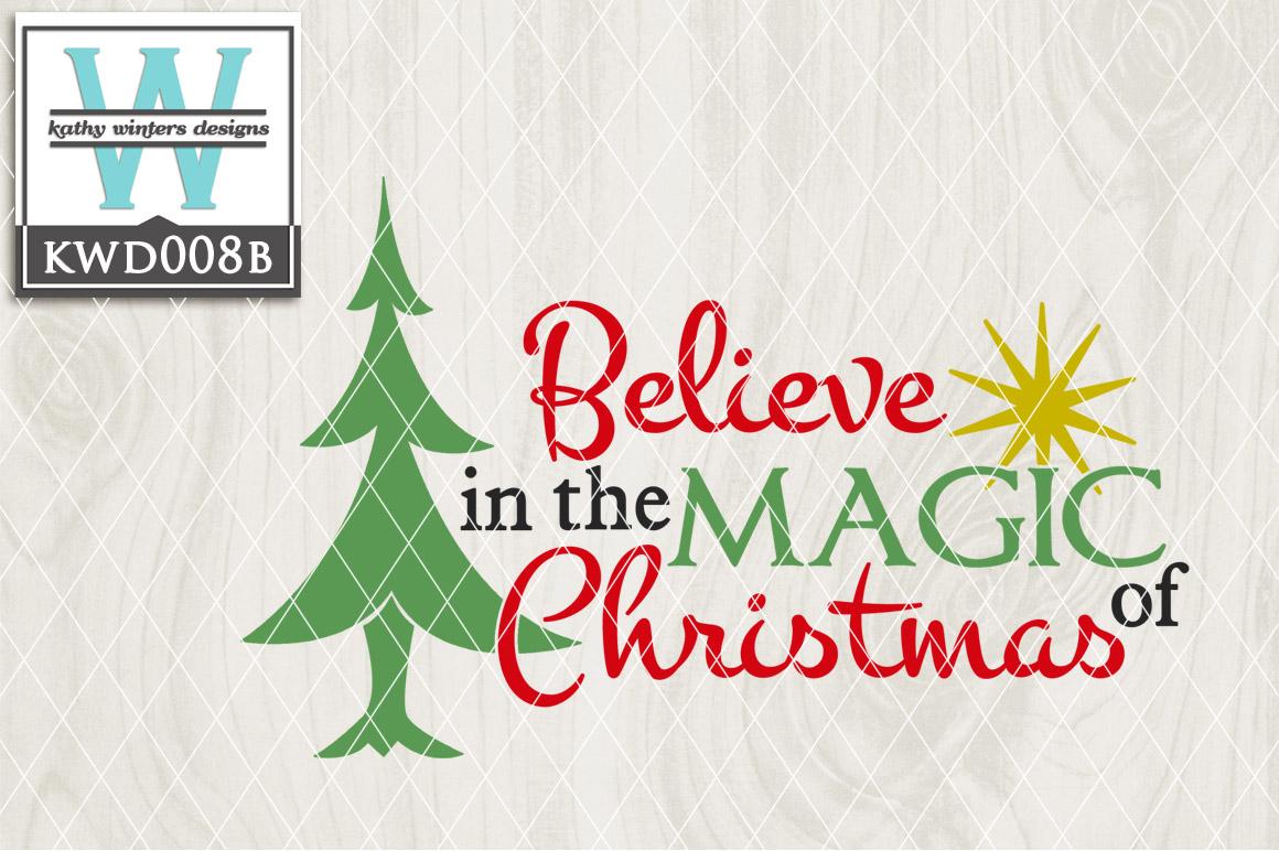 Christmas Cutting File KWD008B example image 1