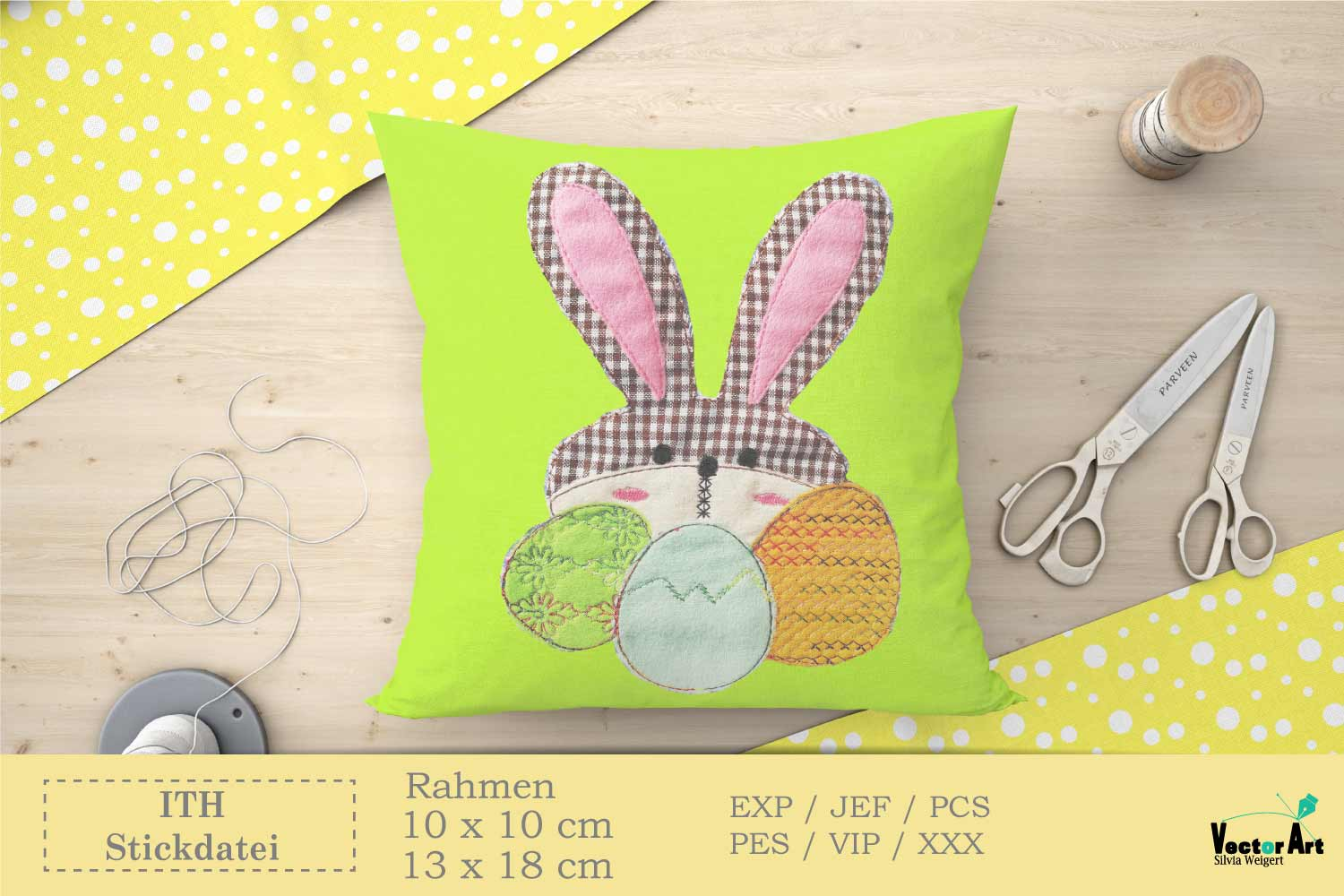 ITH Easter Bundle - Machine Embroidery Files - 10 Projects example image 7