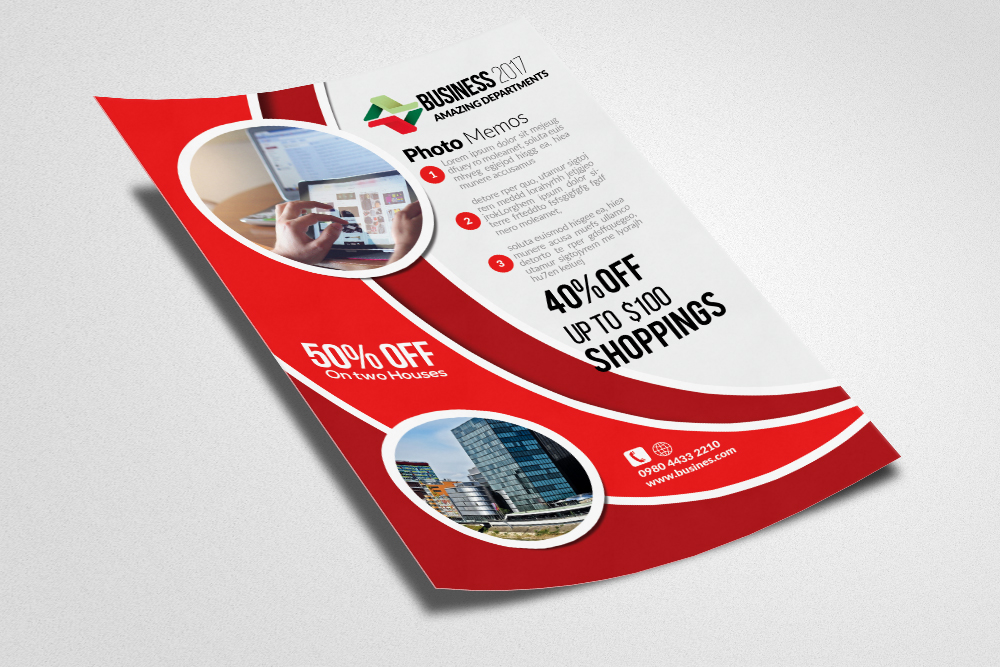 Builder's Trade Show Flyer example image 2