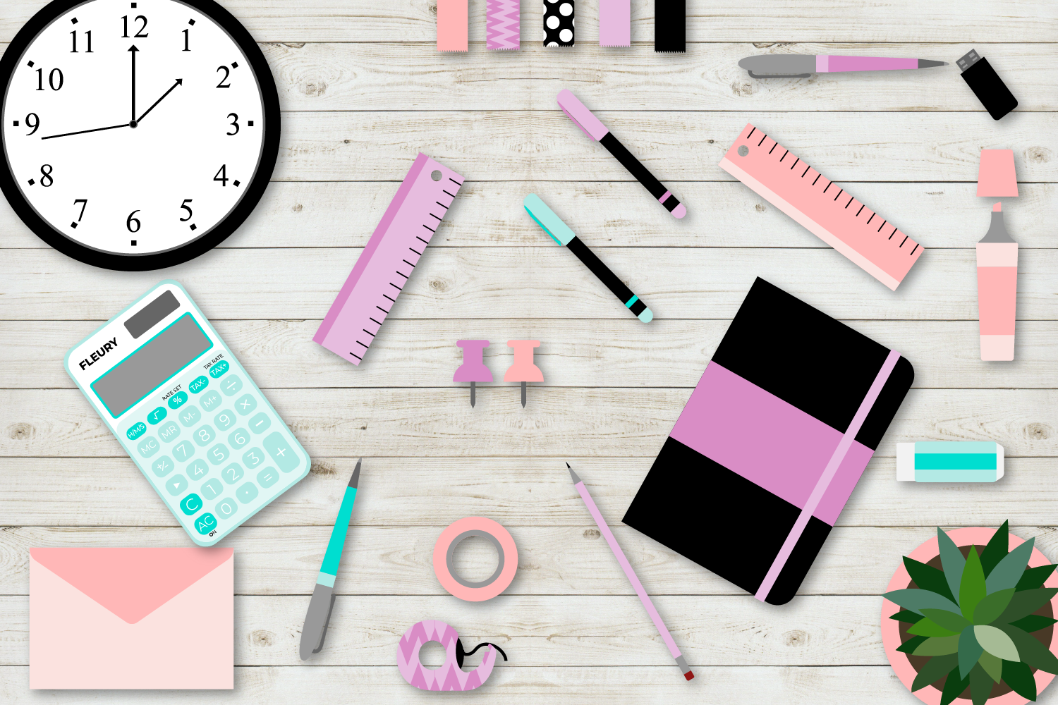 Girl Boss Desk Mockup example image 4