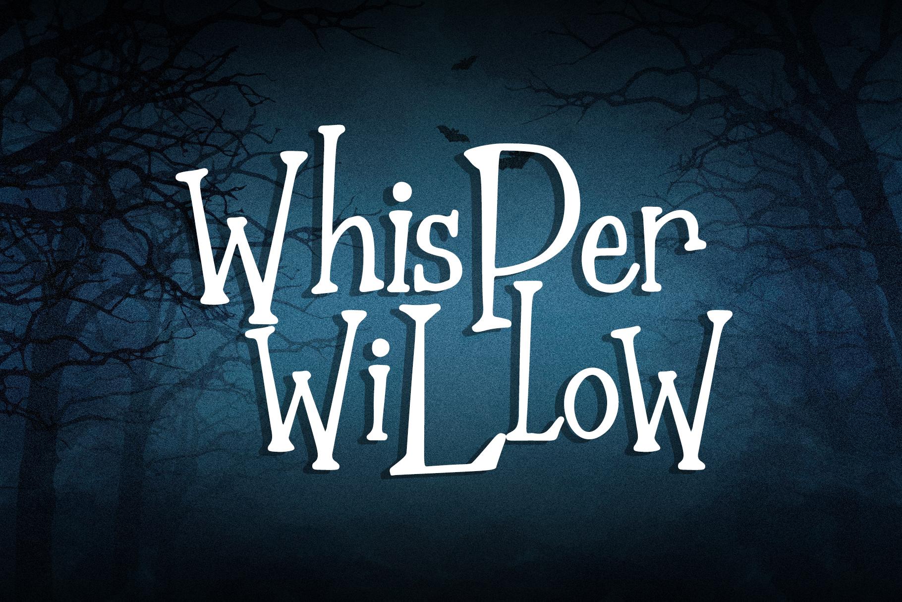 The Nightmare - Creepy Serif Font example image 3