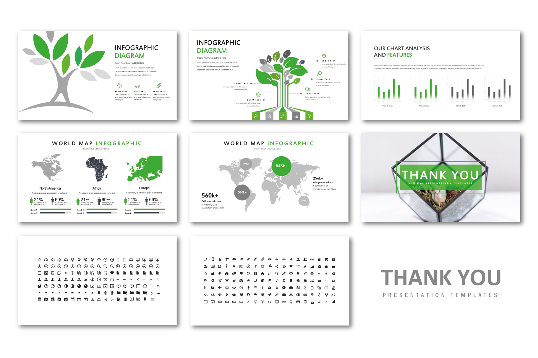 Natural PowerPoint Templates example image 7