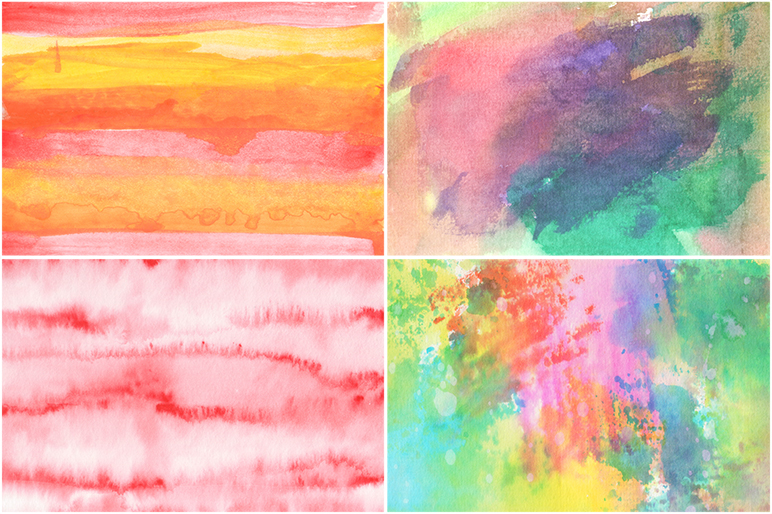 50 Watercolor Backgrounds example image 11