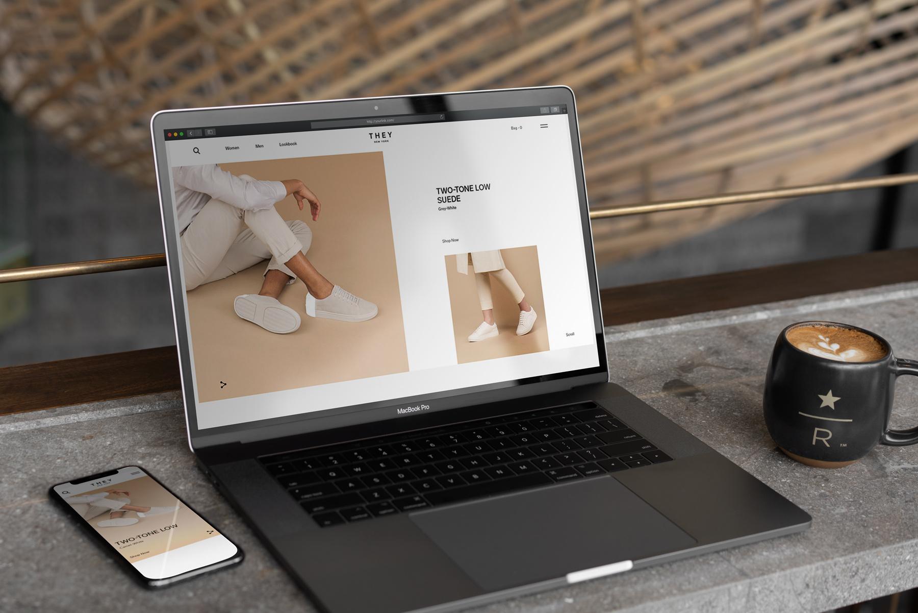 MacBook Pro Mock-Up Loft Style example image 10