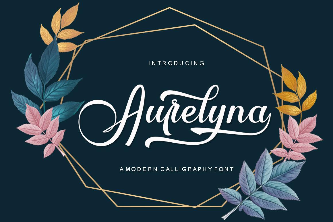 Aurelyna Script example image 1