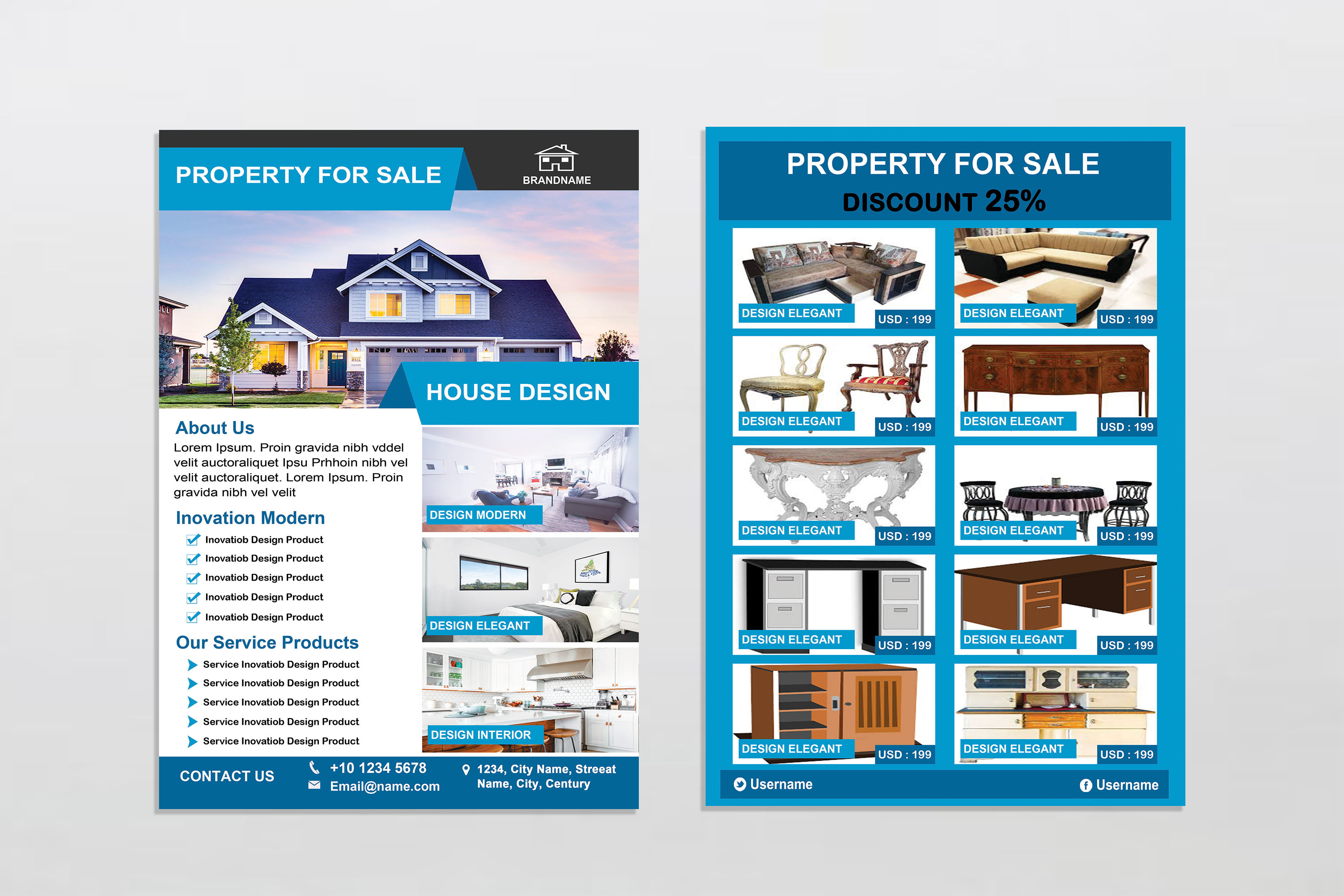 Flyer - Real Estate example image 2