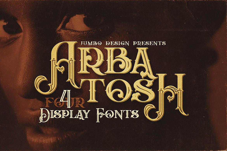 Arbatosh - Display Font example image 1