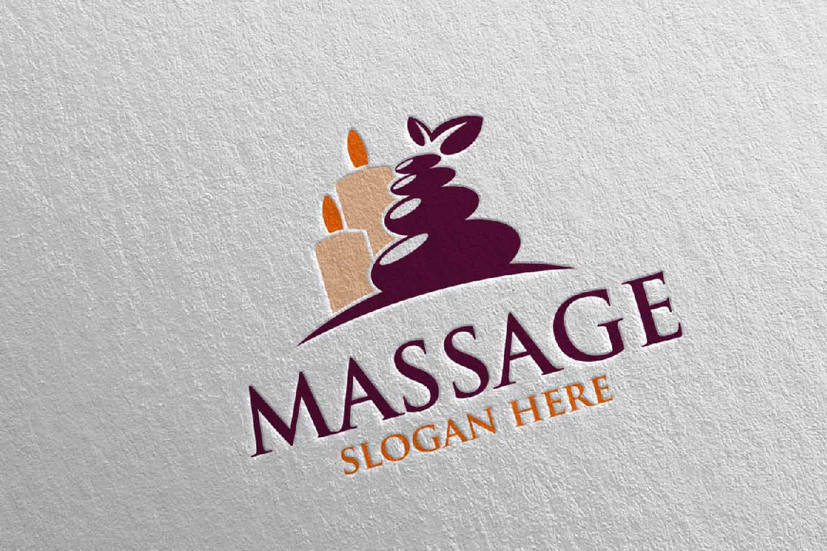 Massage Logo Design 7 example image 5