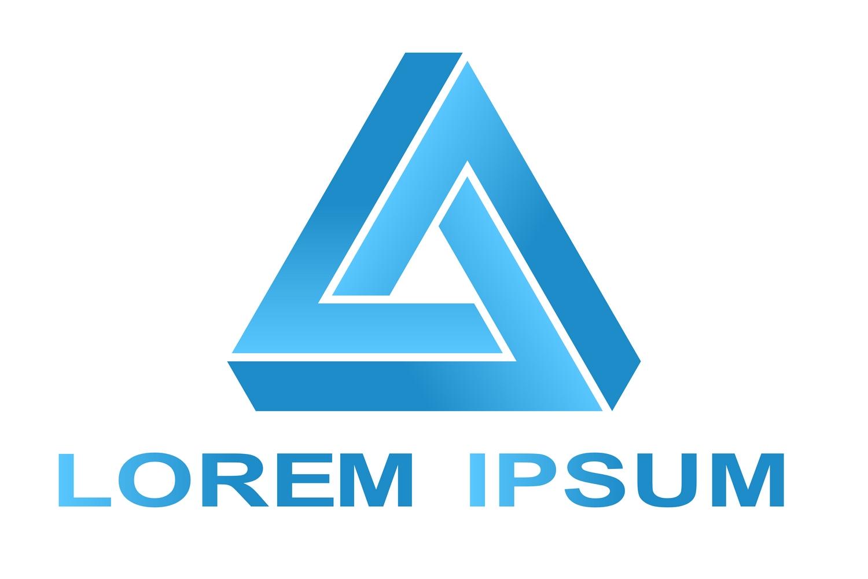20 impossible polygon logo designs (EPS, AI, SVG, JPG 4800x4800) example image 2