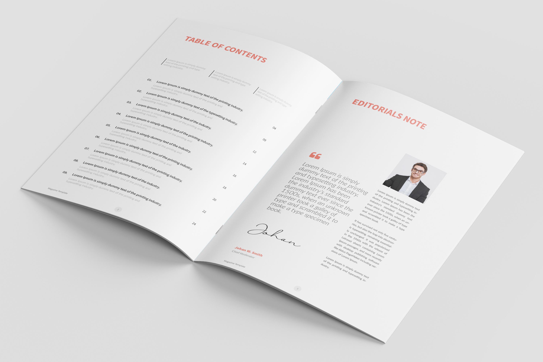 Modern Multipurpose Magazine Layout example image 2