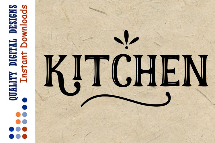 Kitchen signs decor svg files Farmhouse Svg example image 1