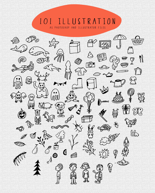 Thyeena Fonts & Illustration example image 15