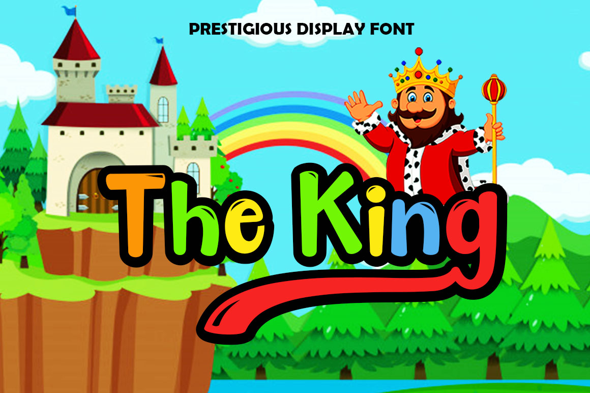 The King Display example image 1
