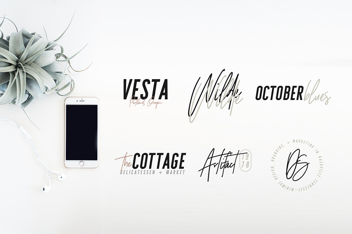 Sydney | Font Duo + 12 Free Logos example image 7
