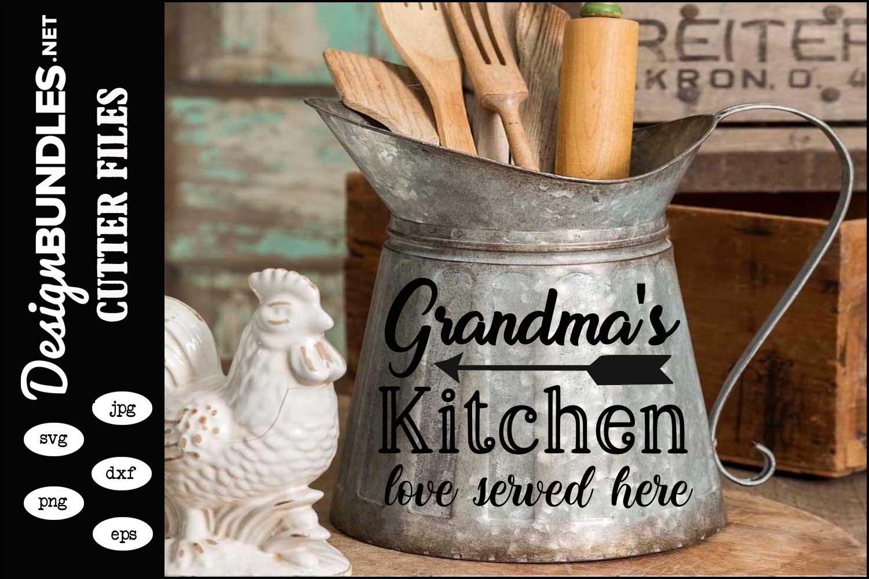 Grandmas Kitchen SVG example image 1