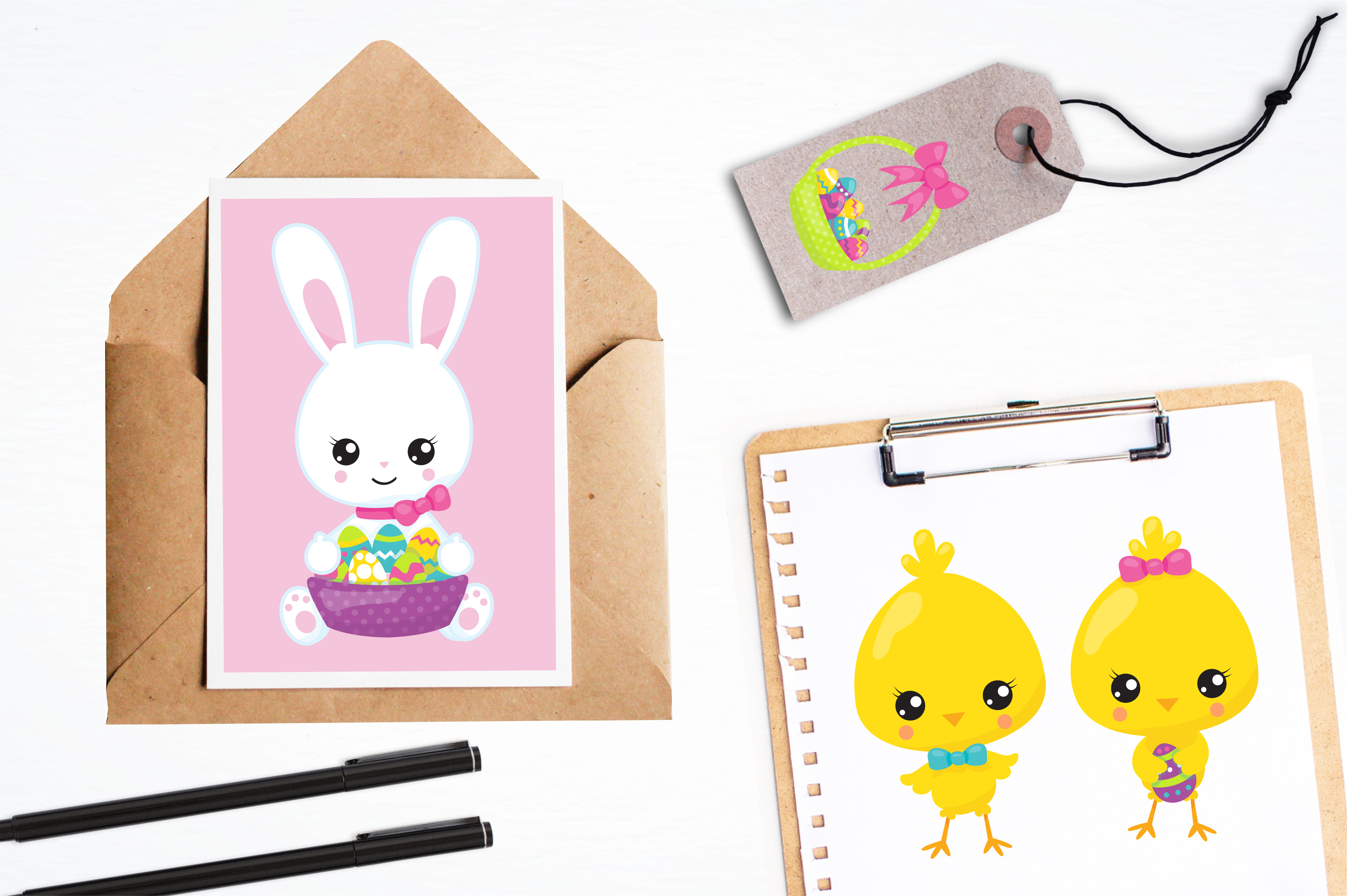 Happy Easter graphics and illustrations example image 4