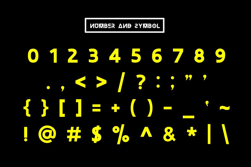 Newstyle Typeface Font example image 6