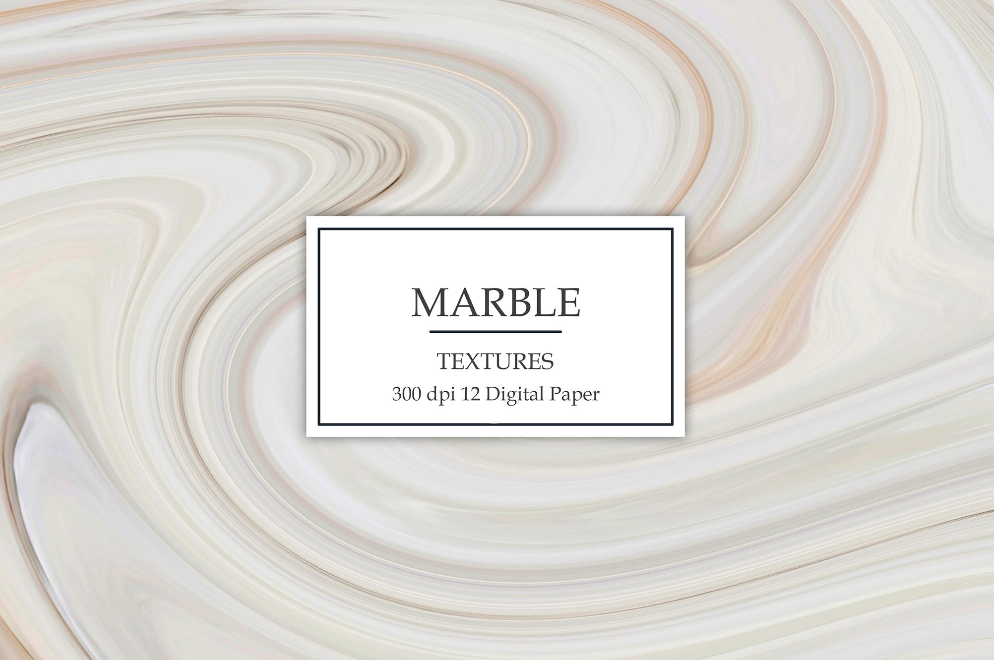 Wedding Marble Digital Paper example image 1