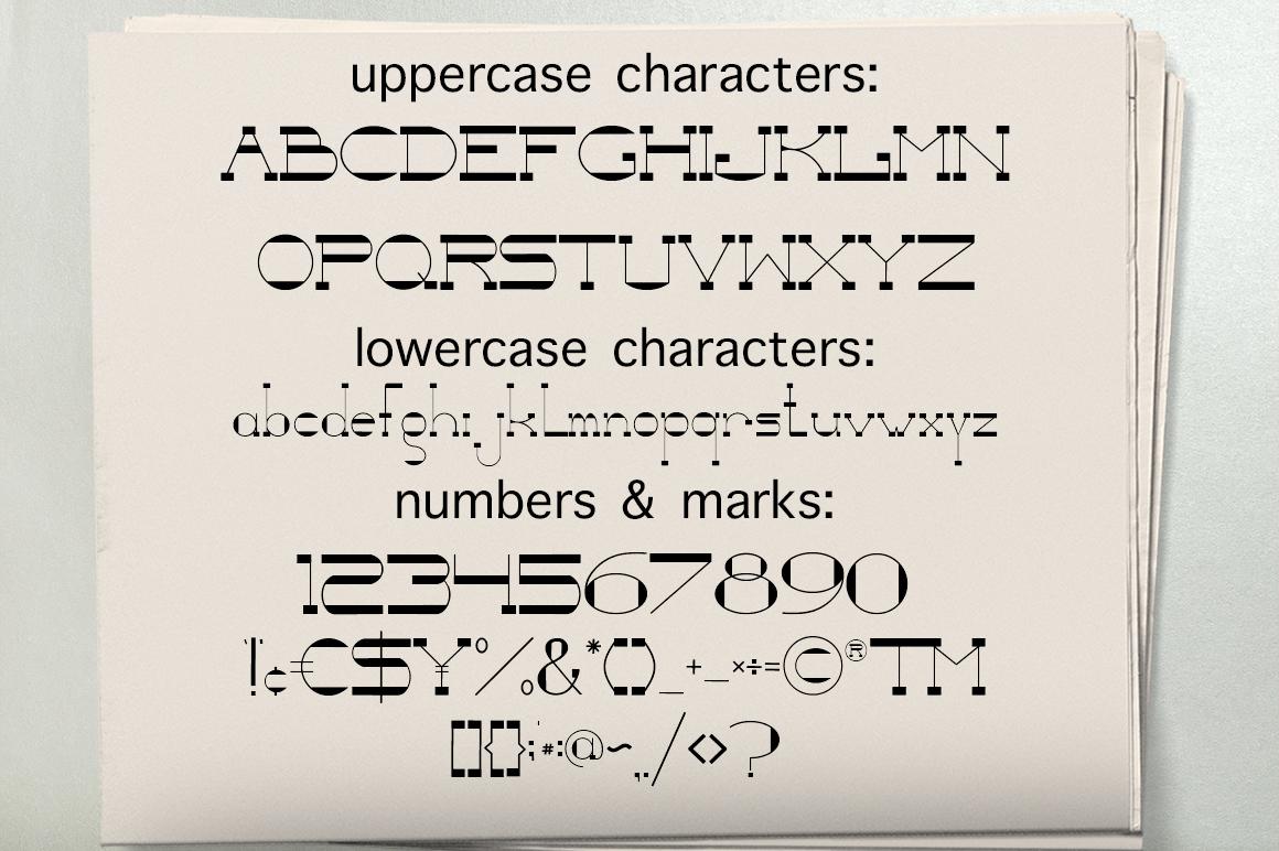 NewspaperSlab Serif font example image 3