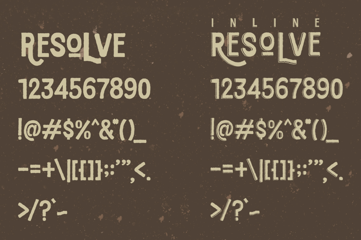 Resolve Font example image 4