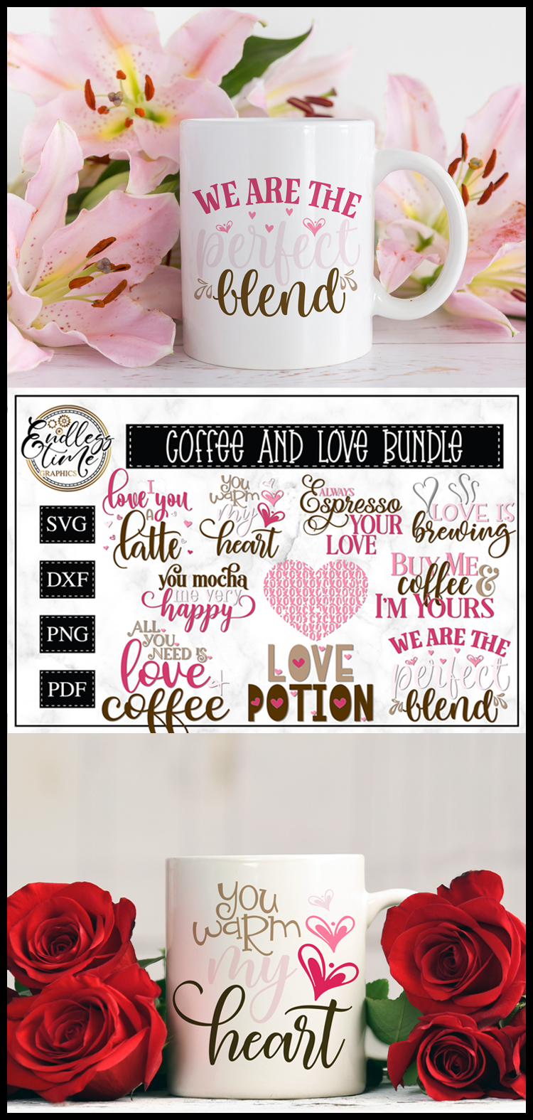 Coffee and Love Bundle - Another Valentine's Bundle example image 5