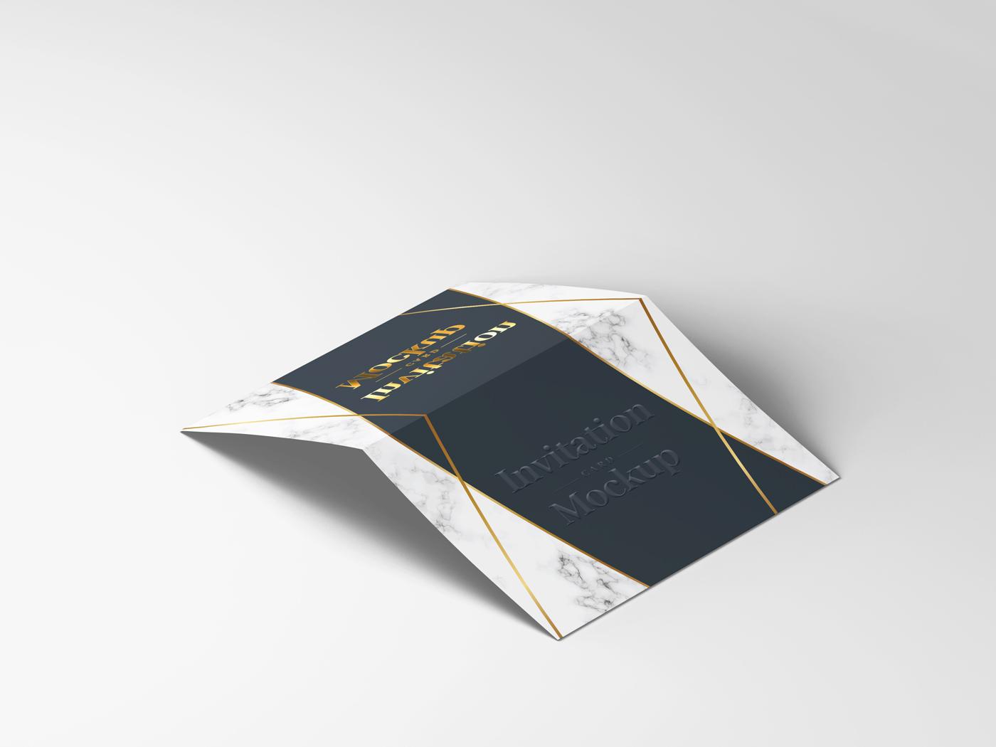 Invitation Card Mockups V1 example image 8