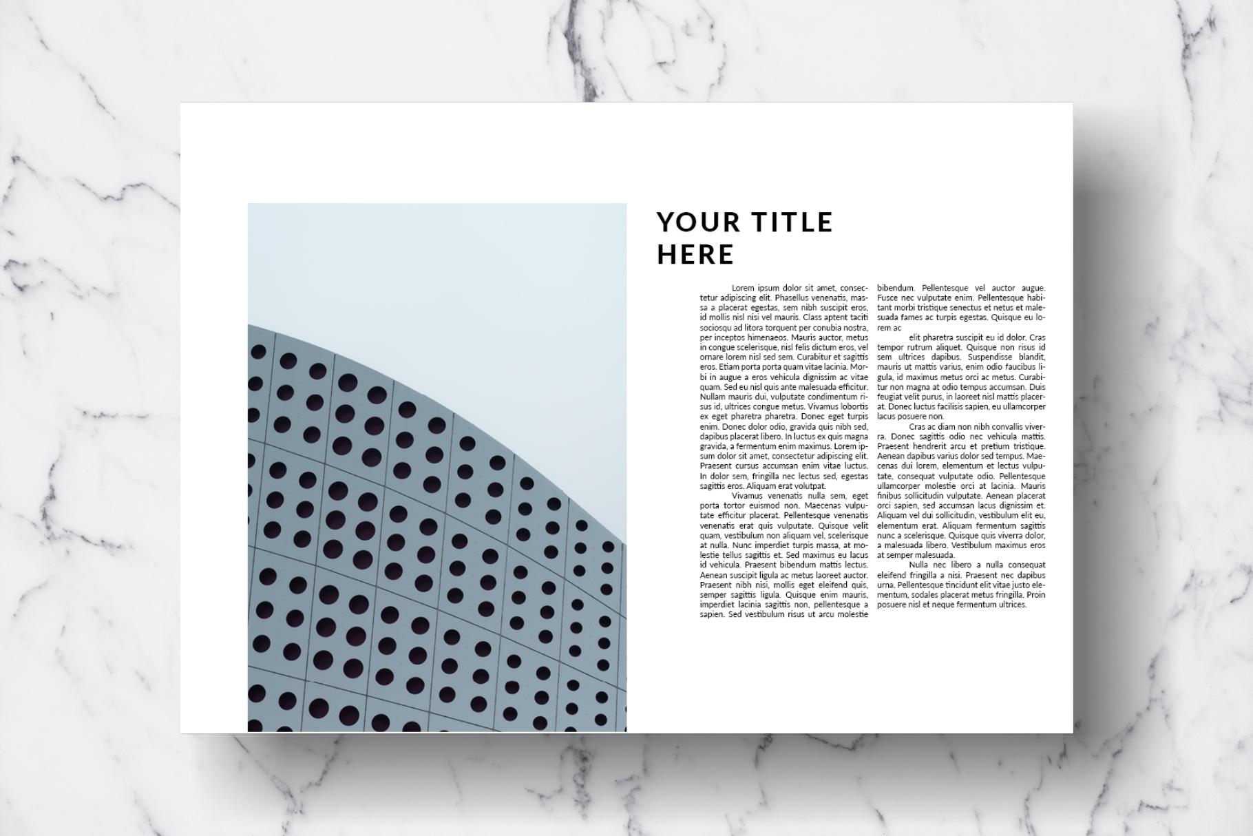 Magazine Template Vol. 13 example image 7